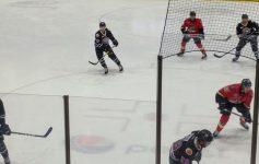 Adirondack Thunder playing on the ice