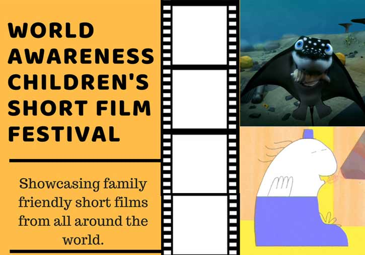 children's short film festival promo