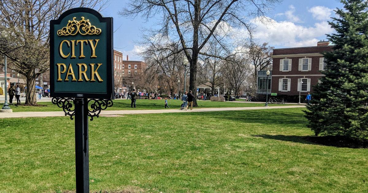 City Park sign