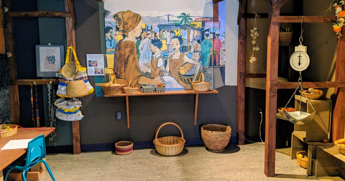 display in kids museum