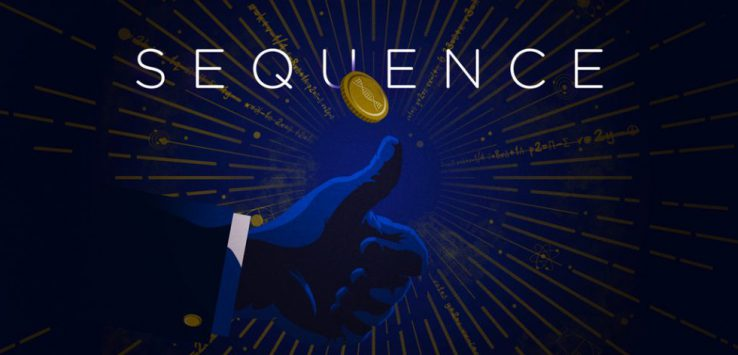 poster for sequence with a hand flipping a coin