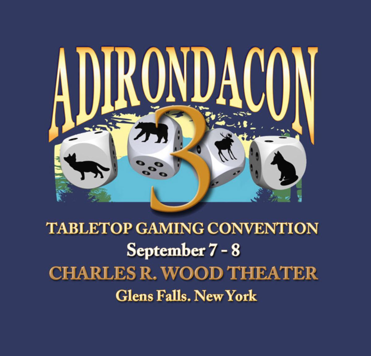 poster for adirondacon 3