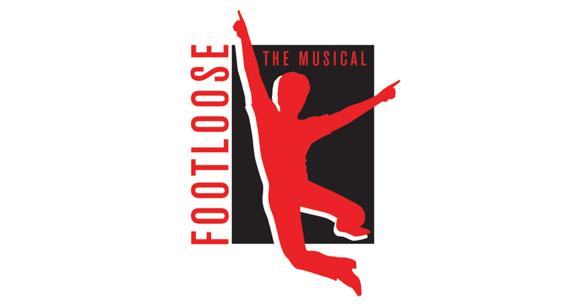 footloose the musical logo