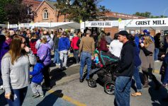 crowd at Taste of the North Country