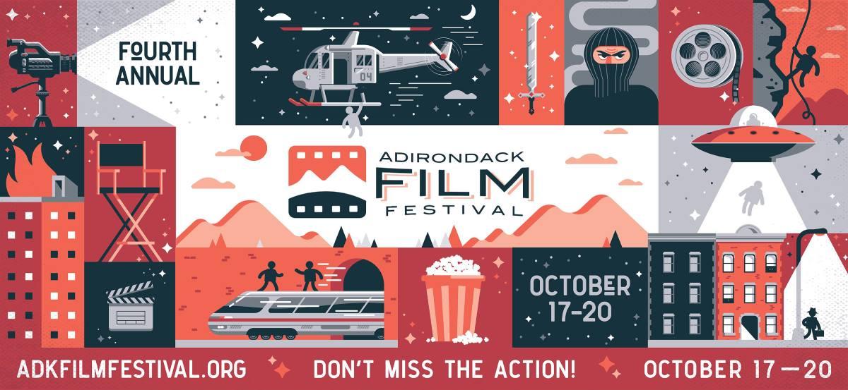 poster for adirondack film festival