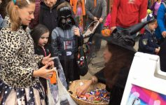 kids trick or treating at boo 2 you