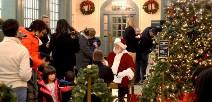 hometown holidays meet with santa