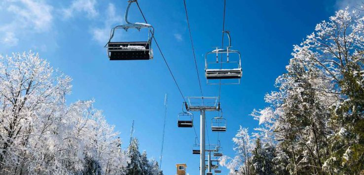 new ski lift at west mountain