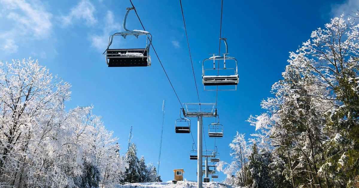 new ski lift at west mountain