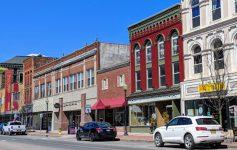 street in Glens Falls