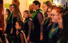 kid dancers in Irish attire