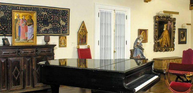 music room in museum