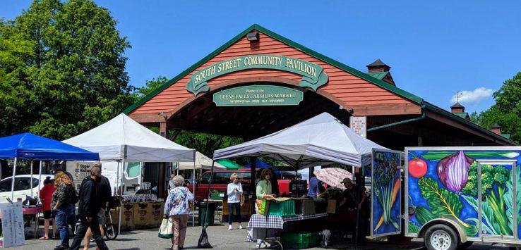 farmers market under pvailion