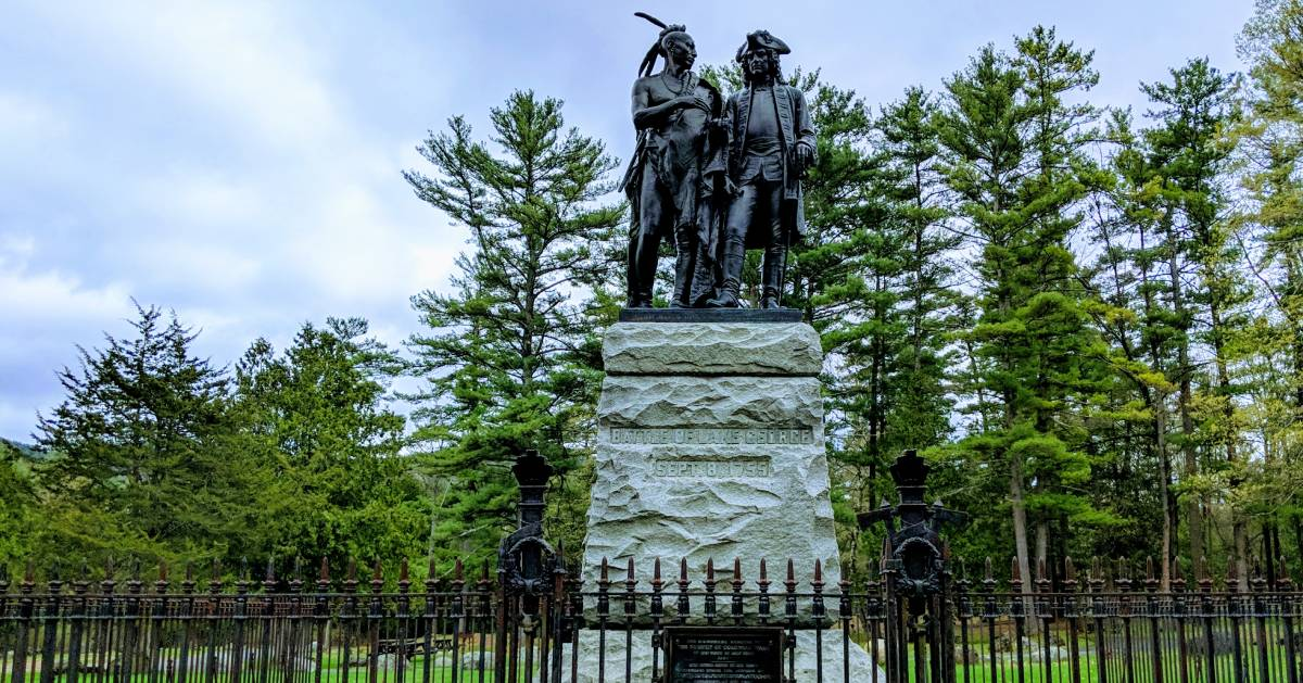 battlefield park statues