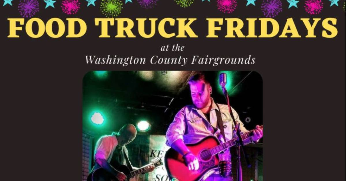 Food Truck Friday event poster